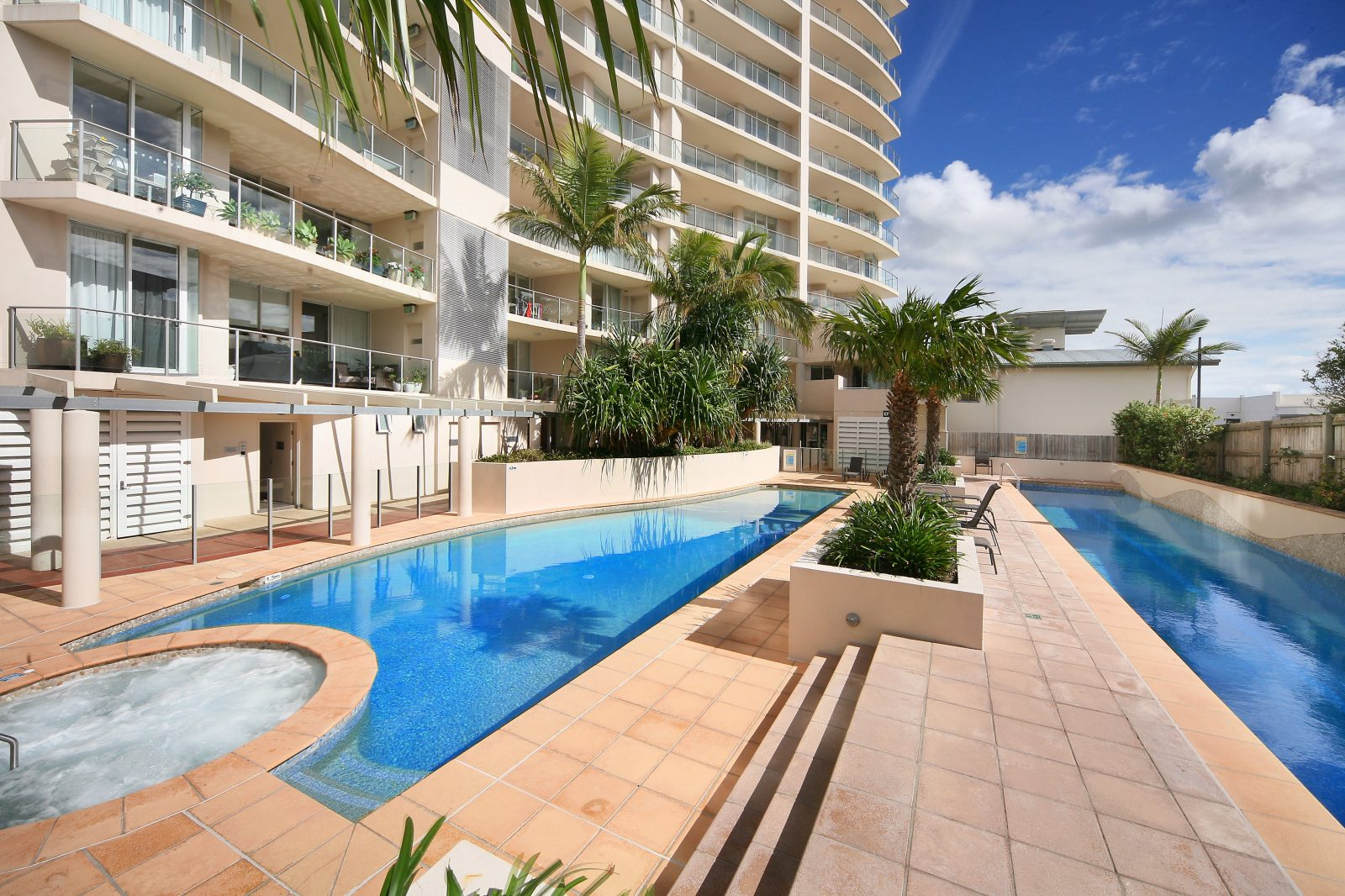 Aspect Caloundra, Sunshine Coast, Queensland, Heated Pools, Heated Spa