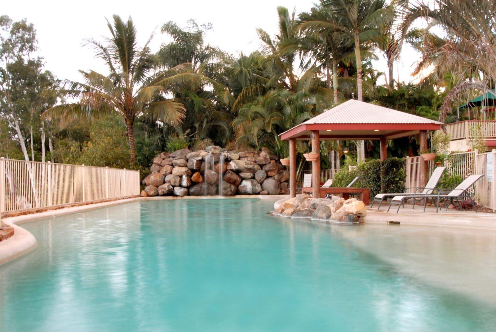 at Boathaven Spa Resort