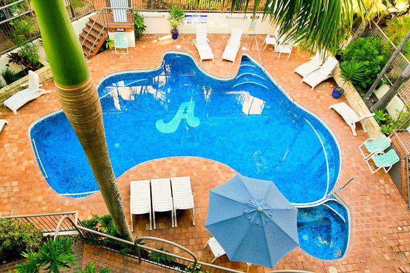 Aussie Resorts Australia Shaped Pool