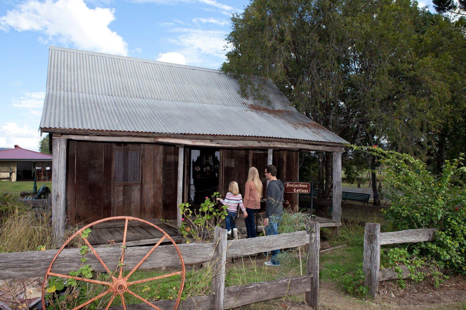 Laidley Pioneer Village Slab Hut