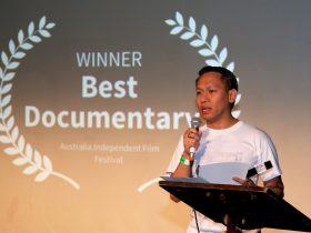 Grammy winning Broadway Producer Jhett Tolentino - Best documentary winner 2018.