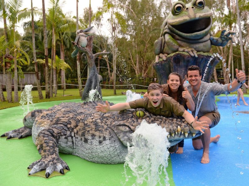 Water Play Area Australia Zoo