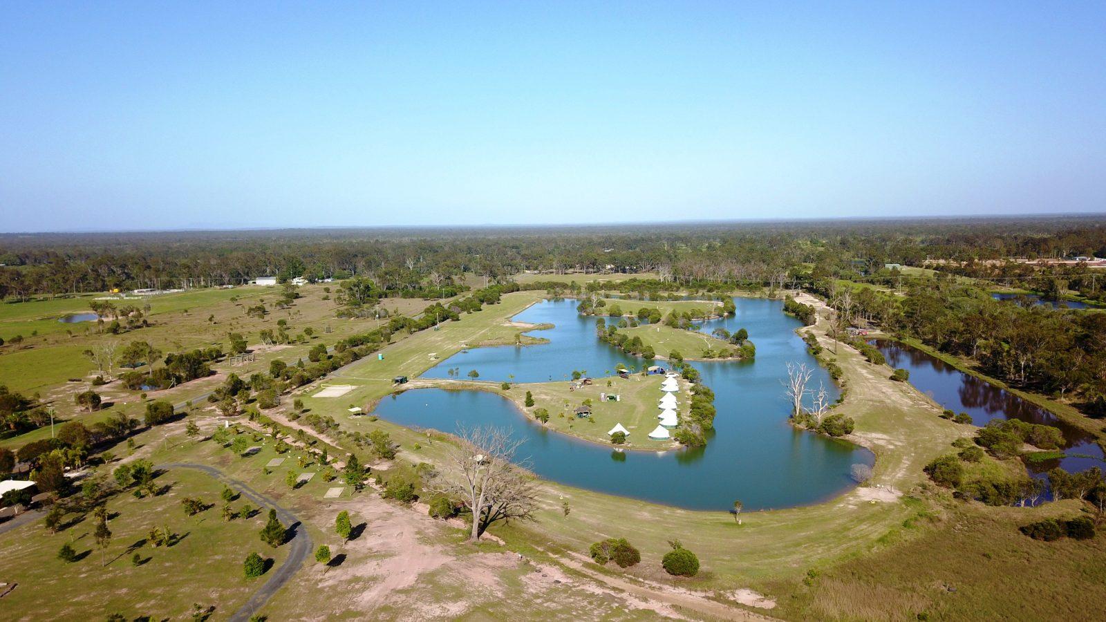 Aerial View of AAP