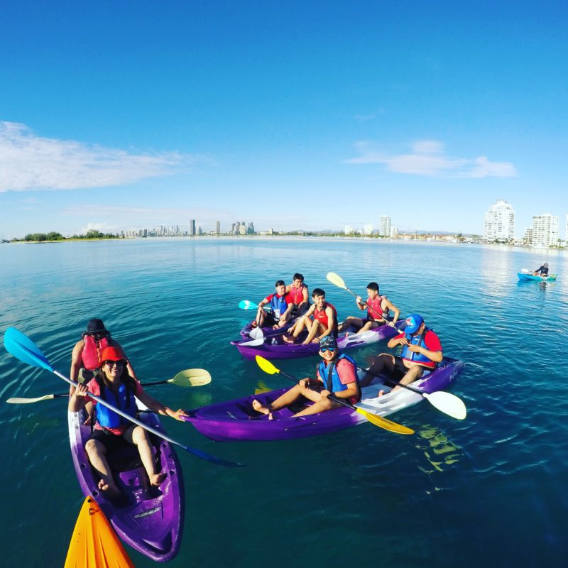 Kayaking on the Gold Coast