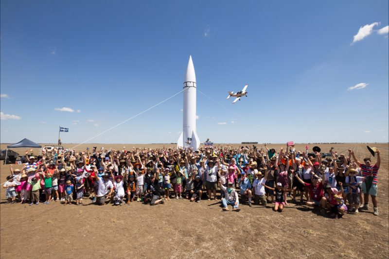 Australian Rocketry's Thunda Down Under