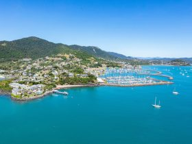 Coral Sea Marina Resort aerial image