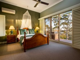 Daintree Bedroom at Avocado Sunset B and B