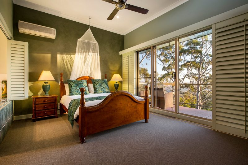 Daintree Bedroom at Avocado Sunset B and B