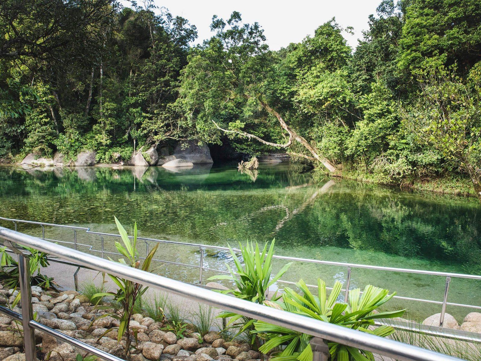 Babinda Boulders swimming hole