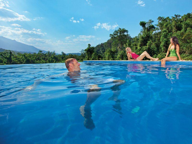 Bali Hai - Views from the pool