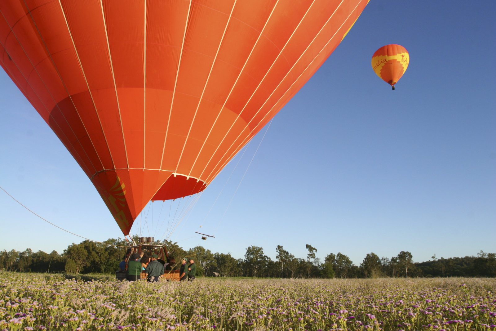 Hot Air Ballooning from Brisbane
