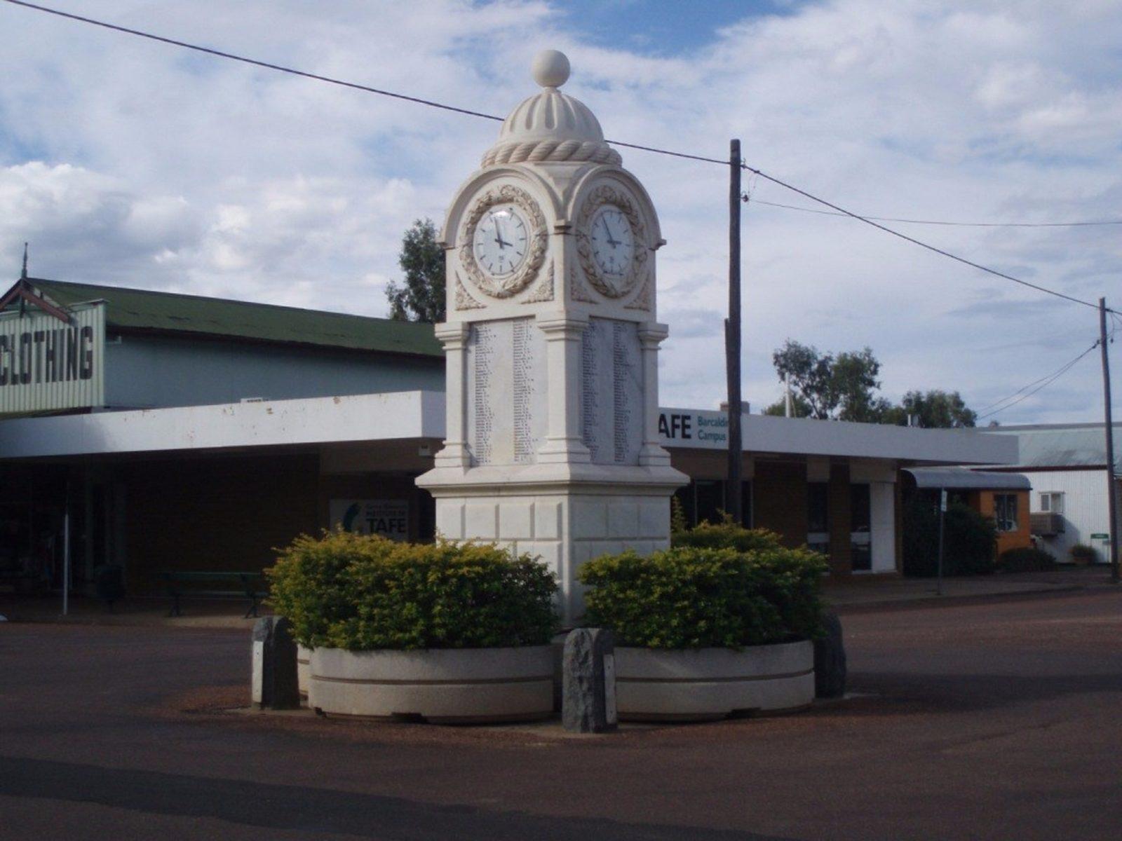 Barcaldine War Memorial Clock