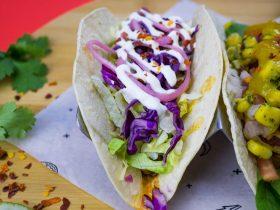 Handmade tacos