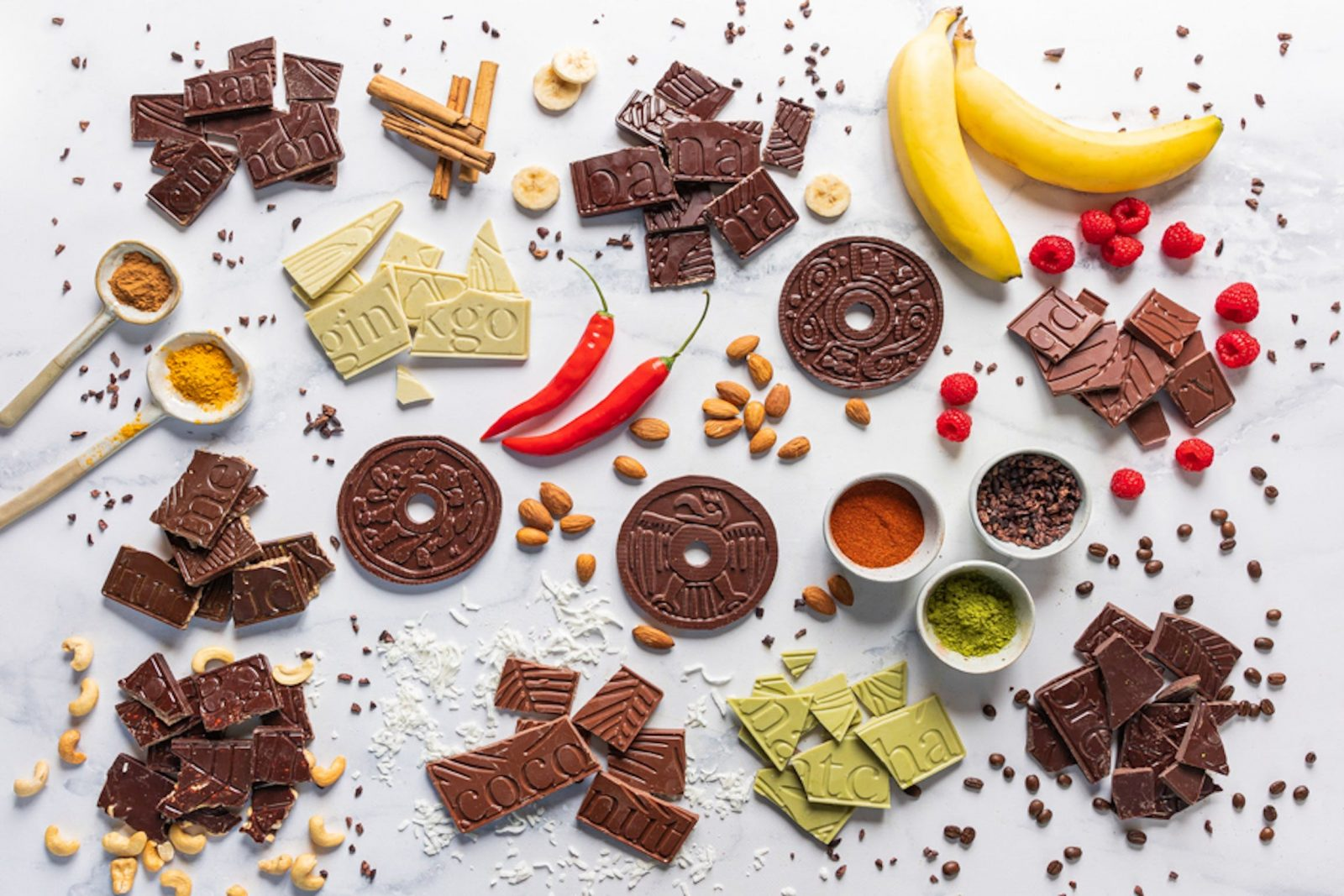 Healthy pure chocolate