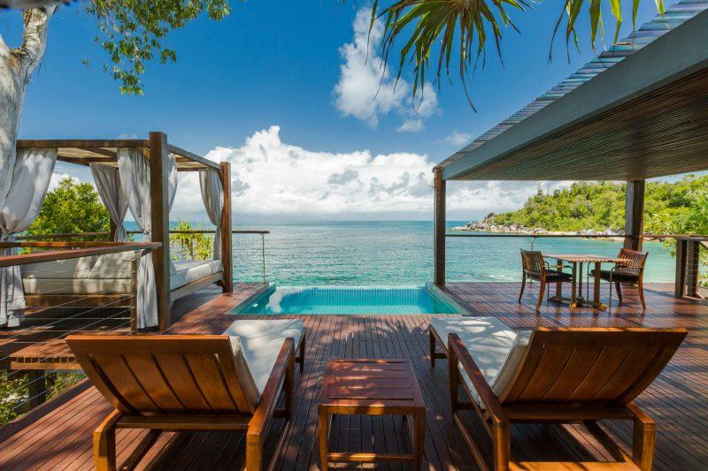 Villa View over Front Beach Bedarra Resort