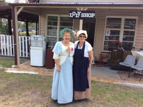 Mrs Louisa Logan & the Lolly Shop Lady
