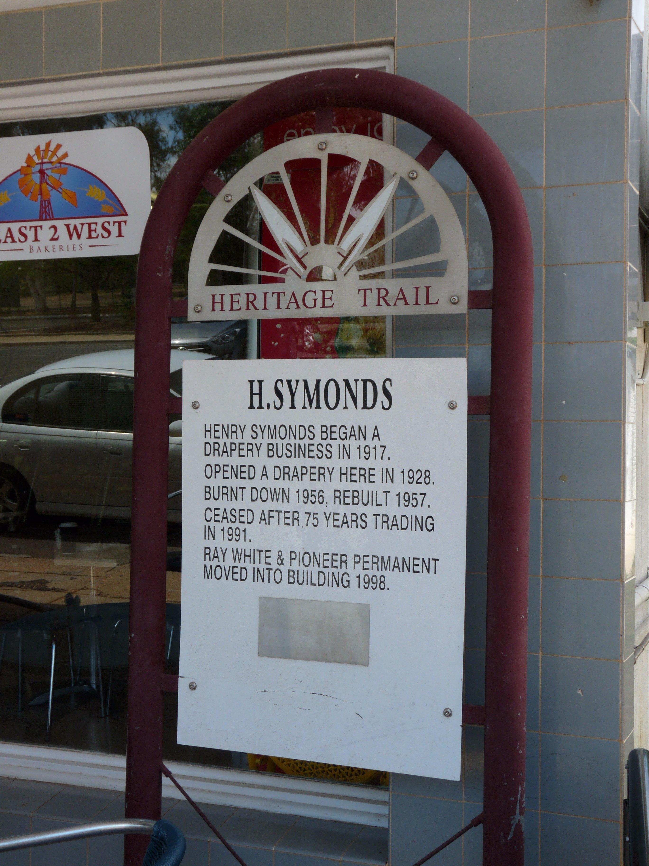 Symond's Sign