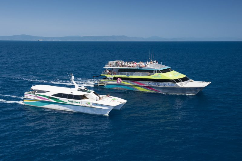 Great Barrier Reef Cruises - Green Island