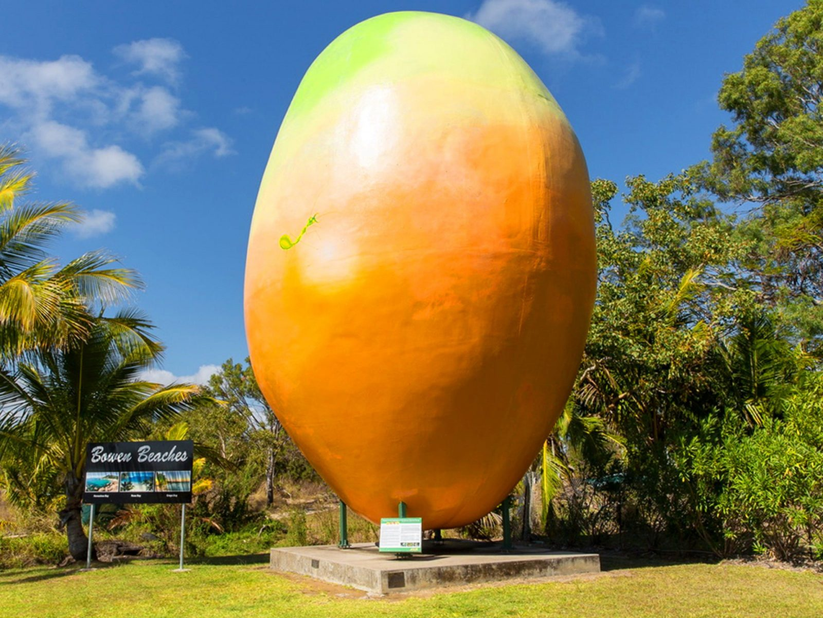 Big Mango Sculpture