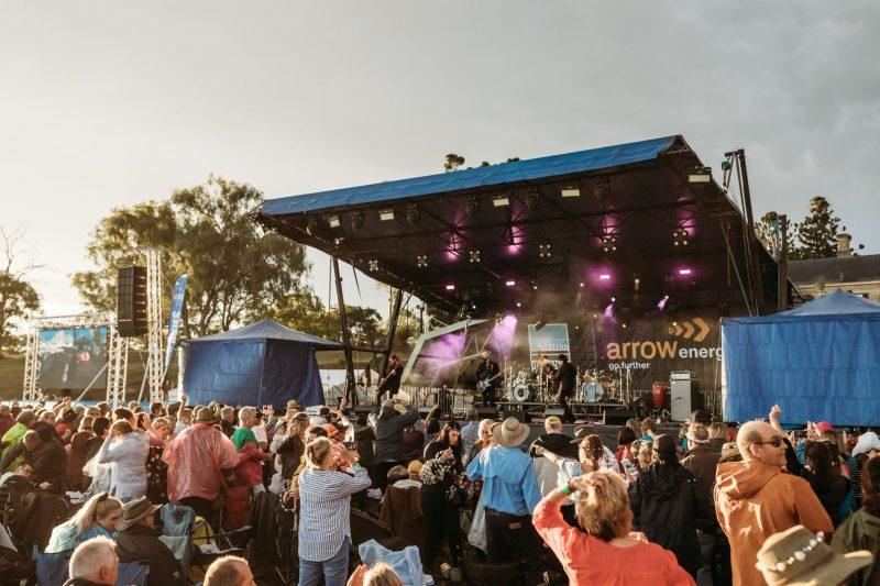 Image Displays 2019 Big Skies Rock Concert