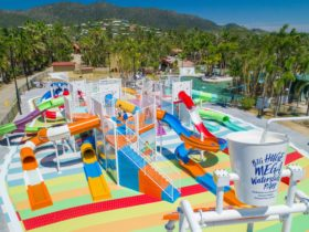 13 slide waterslide park