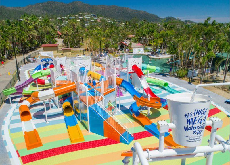 13 slide waterslide park