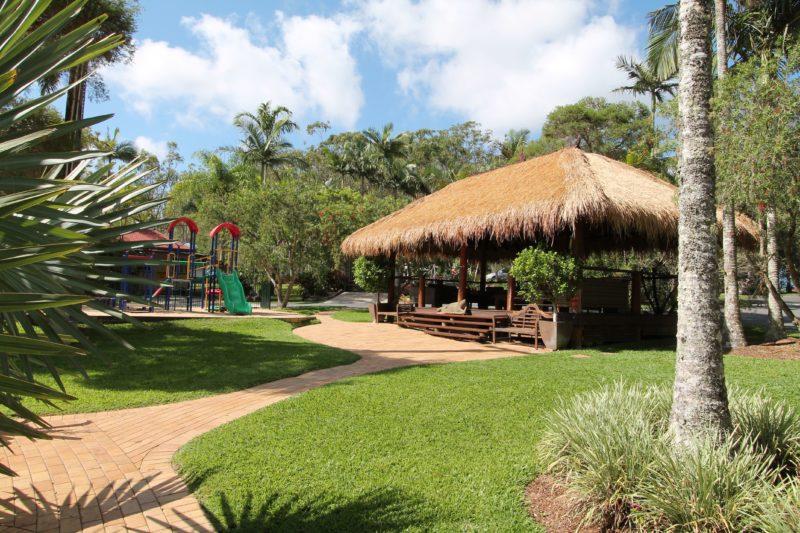 Cabana & Playground