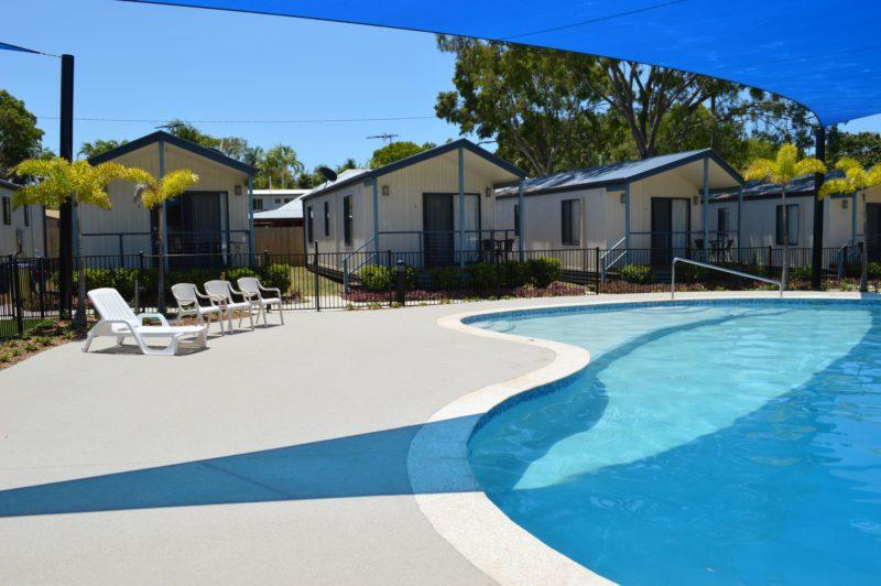Villas overlooking Pool Area