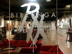 Basement Level Birrunga Gallery & Dining showing Indigenous Art with Authentic Artefacts & Lounge