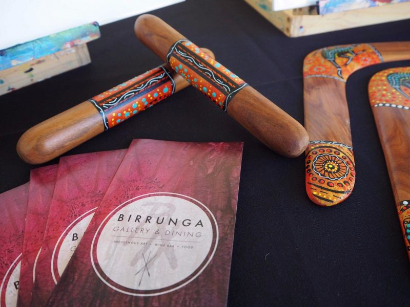 100% Authentic Handmade Indigenous Artefacts Painted Boomerangs Painted Clap Sticks Hand Made Gifts