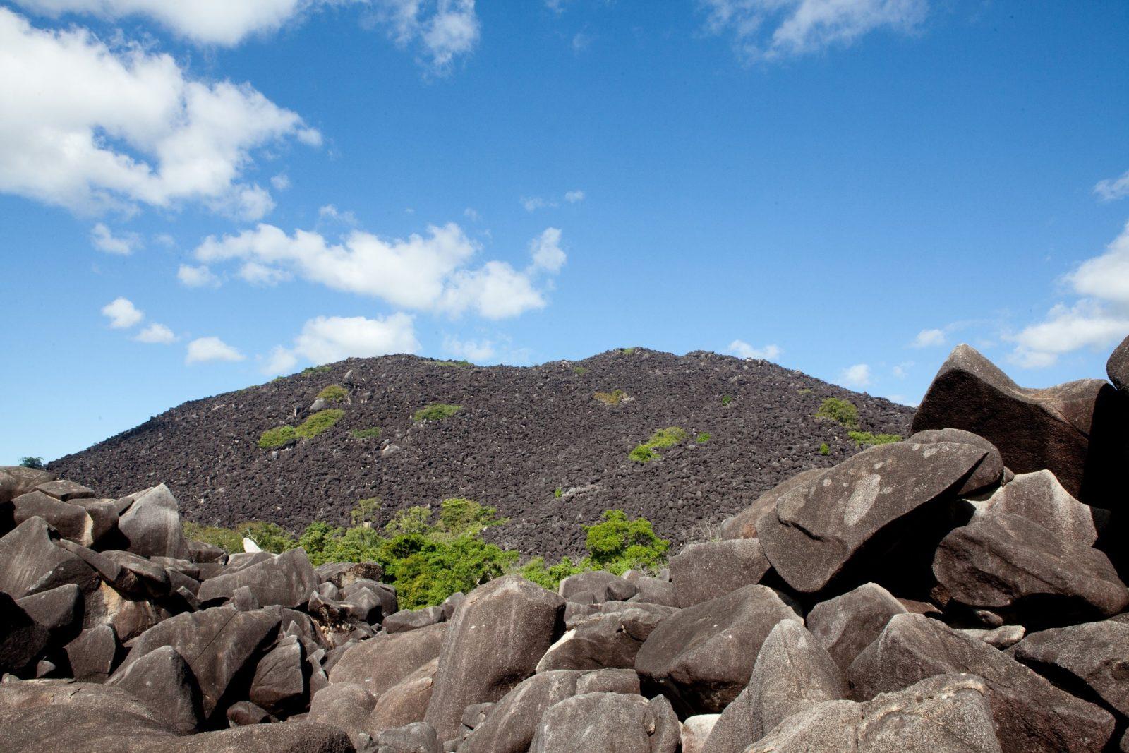 Granite boulders of Black Mountain