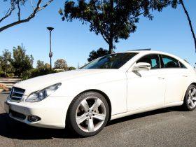 Mercedes Benz CLS 350 - Wedding Car Hire Brisbane