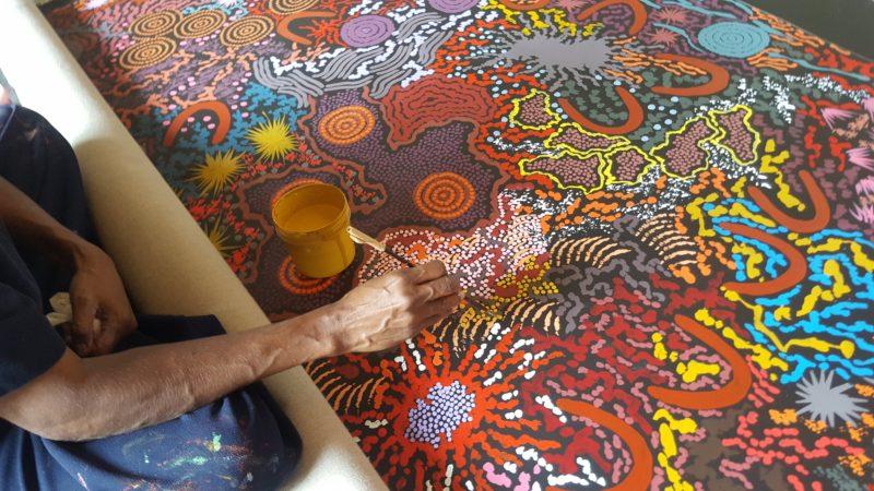 Aboriginal Artist Gabriella Possum
