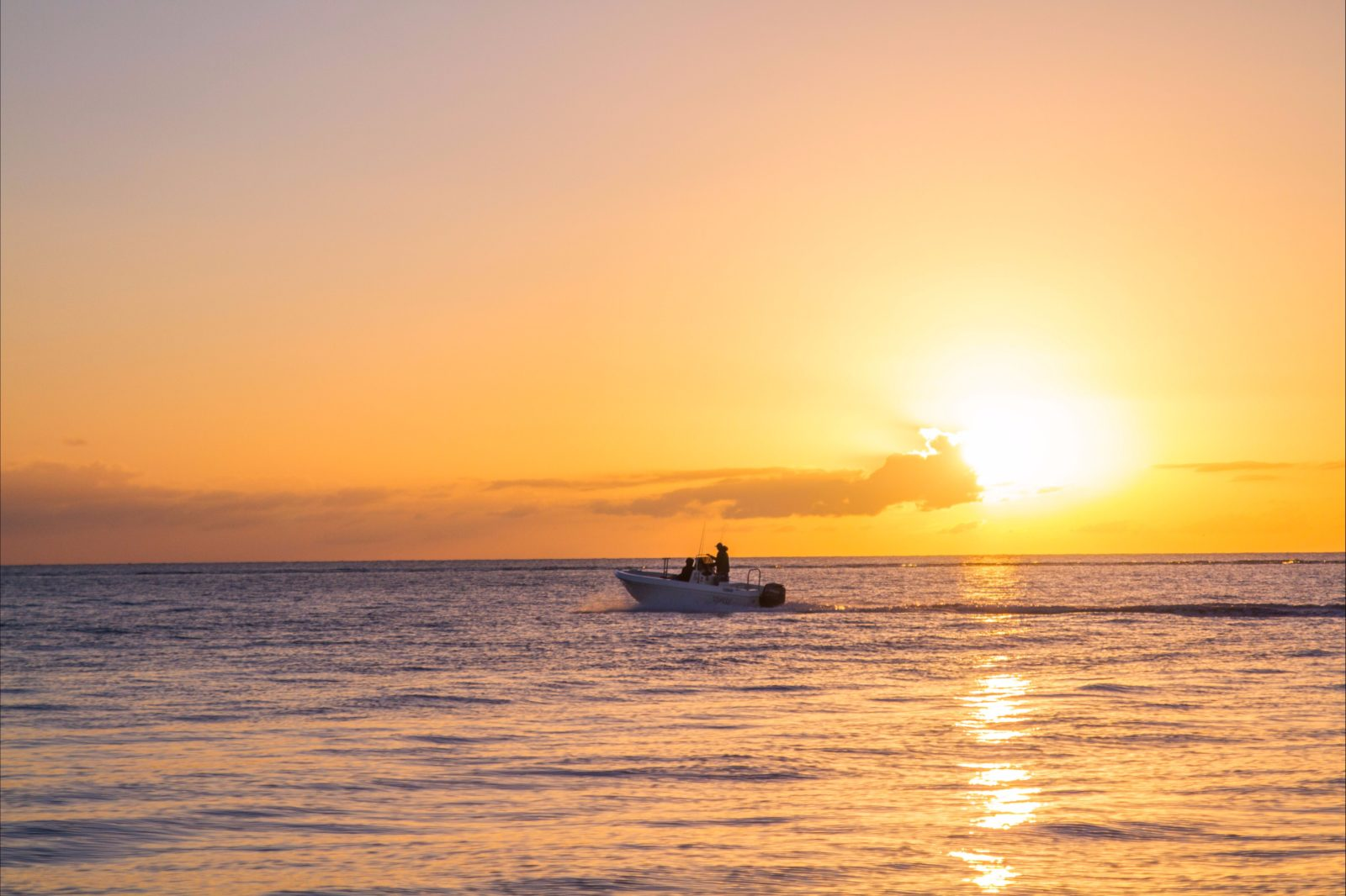 Boating on the Fraser Coast, Queensland, Australia.