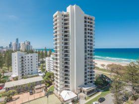All apartments have north facing ocean views