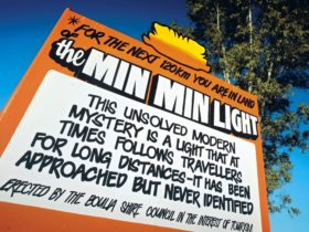 You are in the land of the Min Min Light