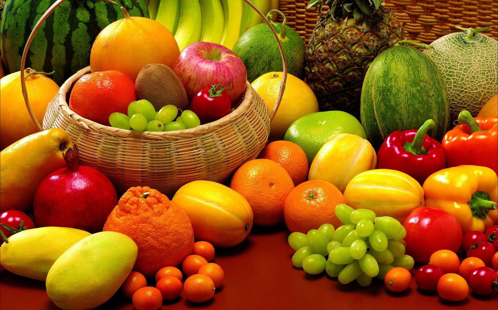 Fresh Fruits, foods and goods