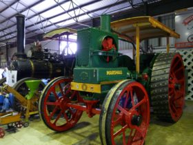 This 1910 Marshall C Class Tractor was restored by the Burdekin Machine Preservationists and is on display at the Brandon Heritage Precinct, North Queensland.