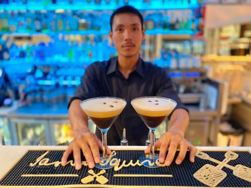 Espresso Martinis are out specialty
