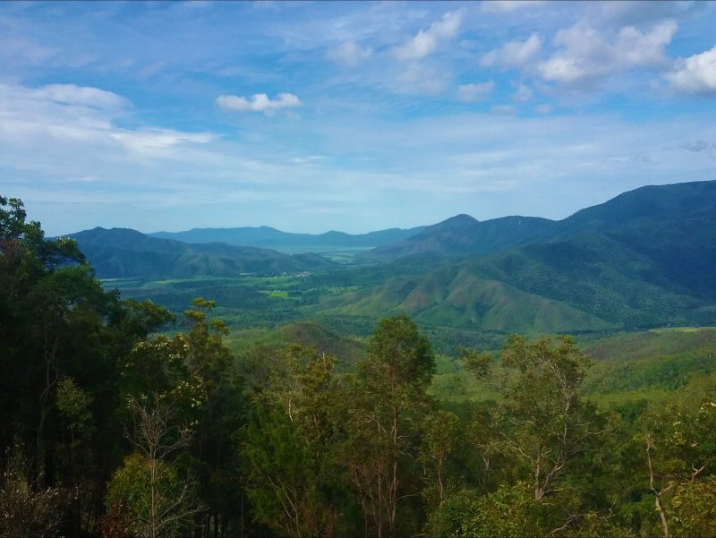 Gillies views Atherton Tablelands