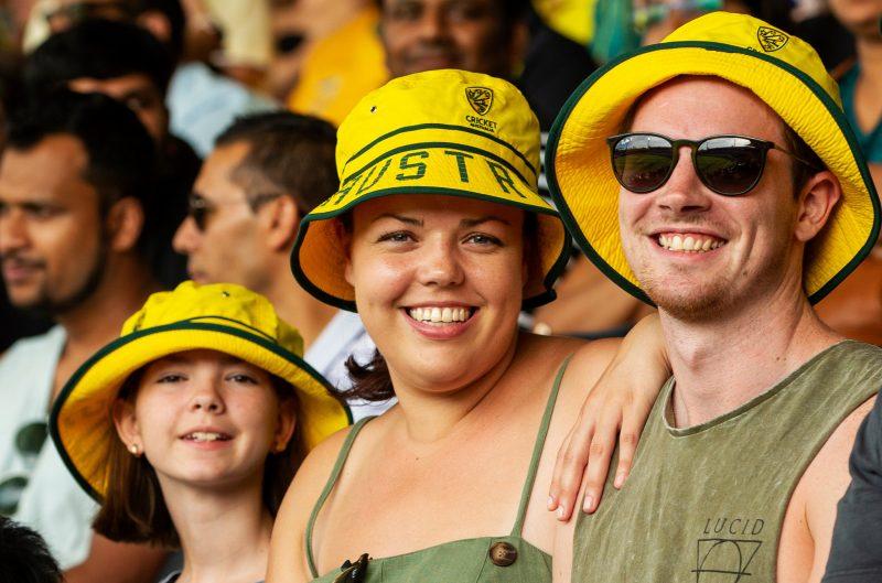 Aussie cricket fans