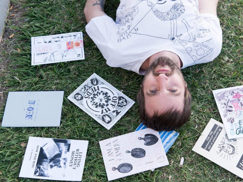 Fanzine Project with Jeremy Staples