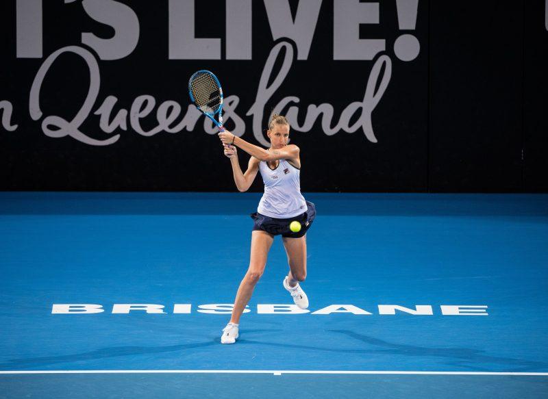 Karolina Pliskova at Brisbane International