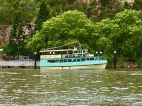 Brisbane Star sitting ready at the Riverlife Pontoon