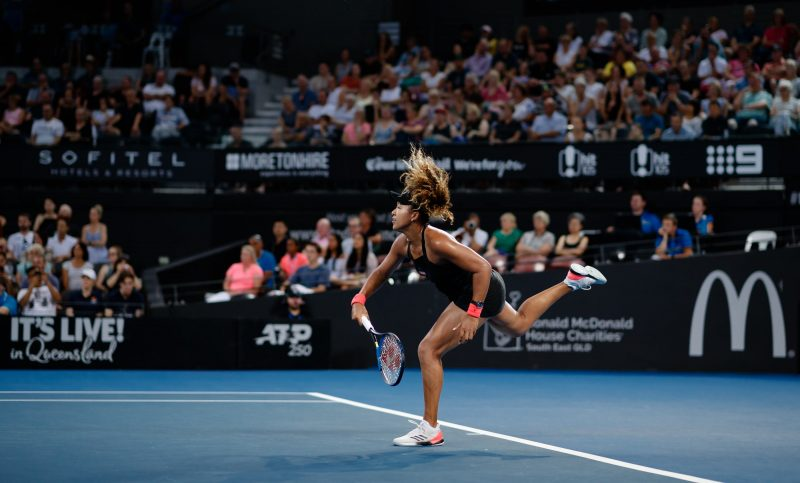 Naomi Osaka at Brisbane International