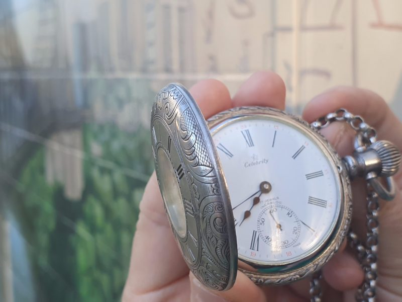 Time Travel Fob Watch