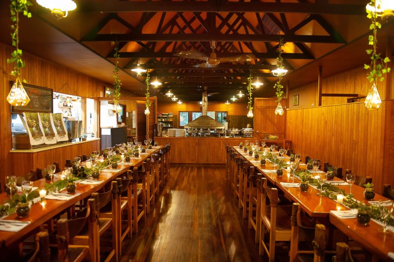 Restaurant set-up