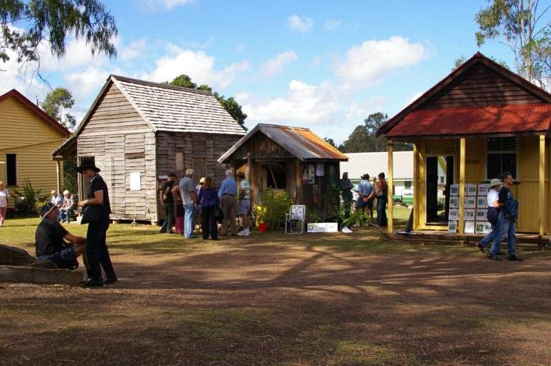 The historical buildings in the complex include a blacksmith's shop, a butcher's shop and the original Woocoo Shire offices to name a few