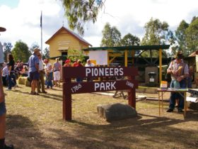 Pioneer Park has a wonderful historical village and museum