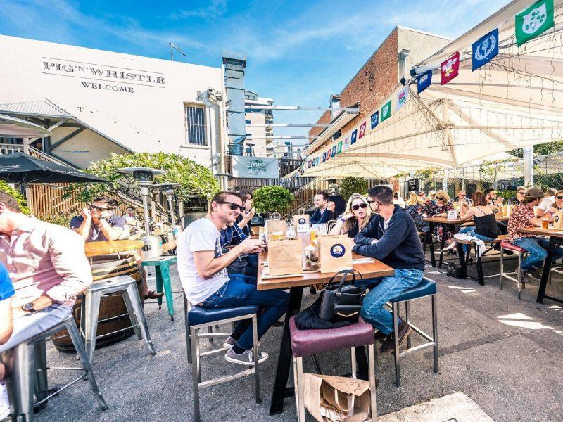 Brunswick's Beer v Wine Lunch